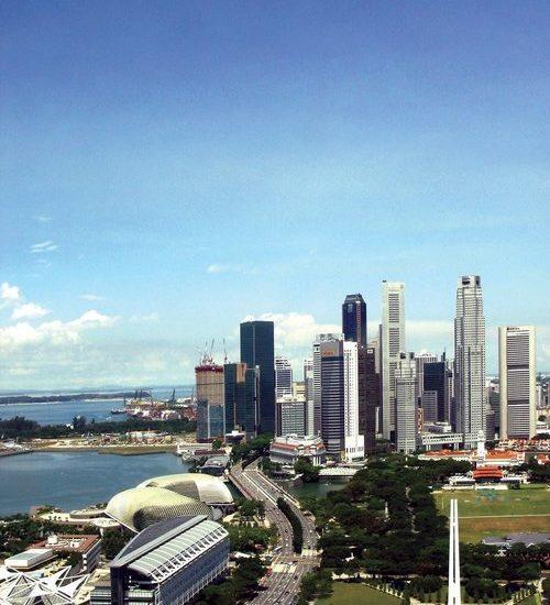 Singapurs Touristenmagnet